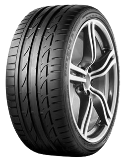 Bridgestone BRIDGEST S001  AO DEMO DOT 2015 guma